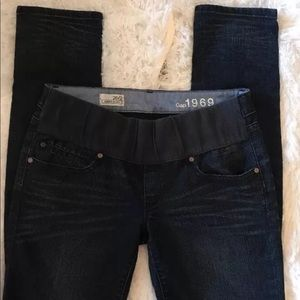 Womens Gap Maternity Jeans Always Skinny 26/2 1969